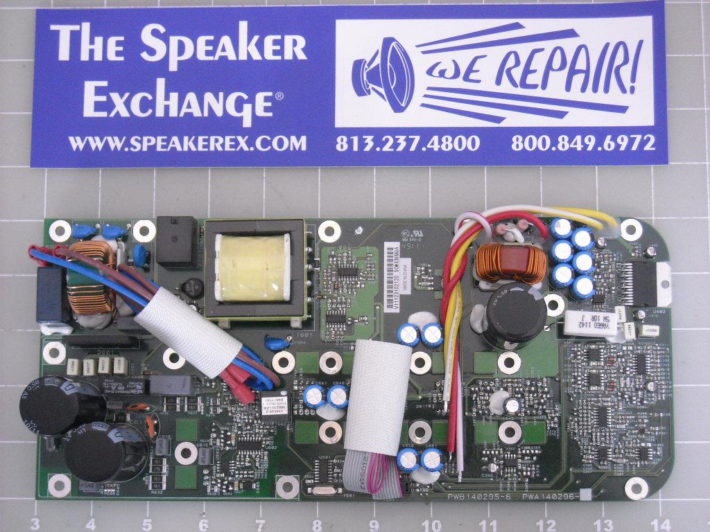 jbl 515xt. jbl eon 515, 515xt amplifier board 140296-6jbl / 444969-001 jbl 515xt e
