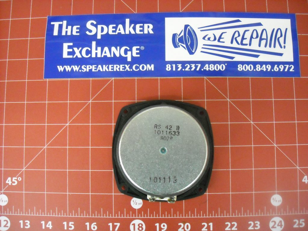 klipsch 1011633 rs 42 ii woofer speaker exchange. Black Bedroom Furniture Sets. Home Design Ideas