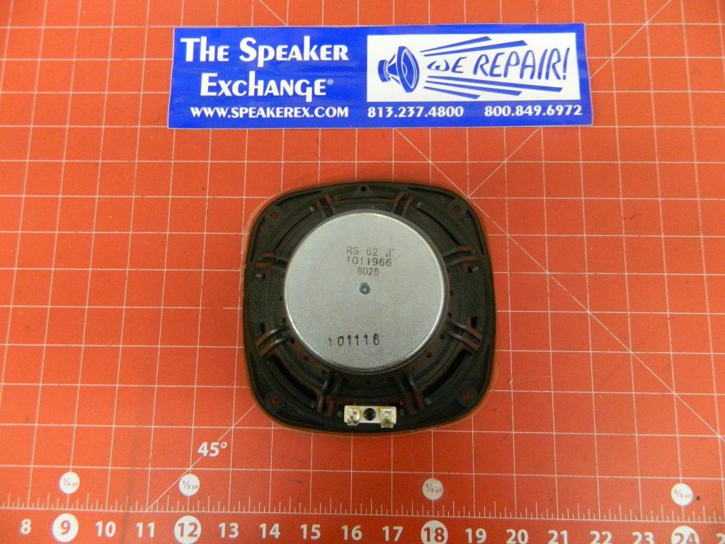 klipsch 1011966 rs 62 ii woofer speaker exchange. Black Bedroom Furniture Sets. Home Design Ideas