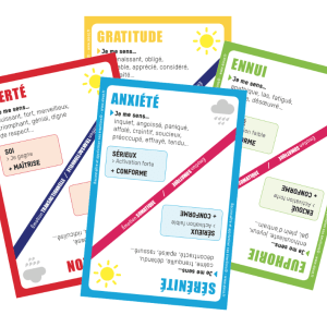 4 cartes émotions