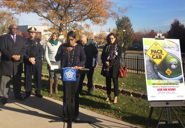 Rochester's Mayor Lovely Warren held a press conference today to announce the expansion of the Pace Car program citywide.