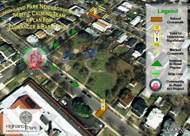 Traffic Calming Plan for Highland Park Neighborhood