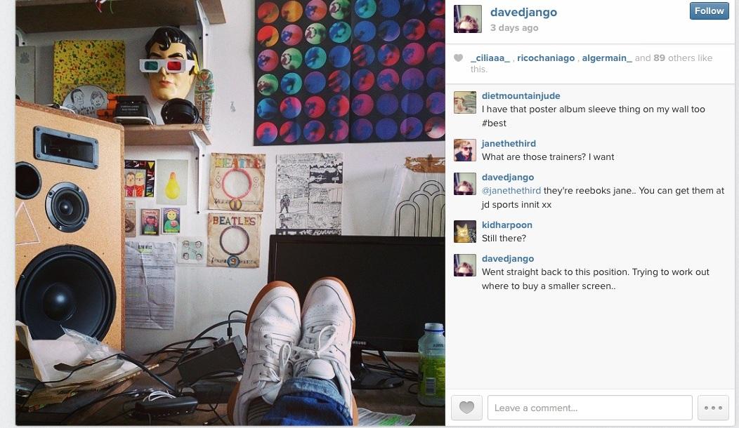 davedjango instagram