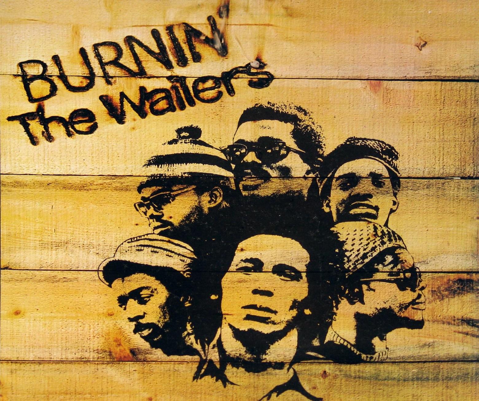 The Wailers – Burnin' – Album Cover