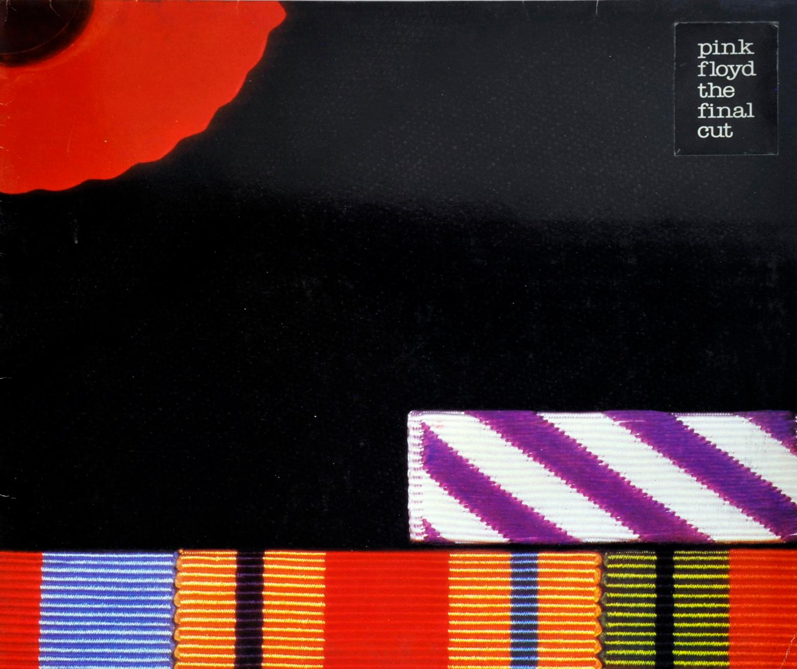 Pink Floyd's The Final Cut Vinyl Cover