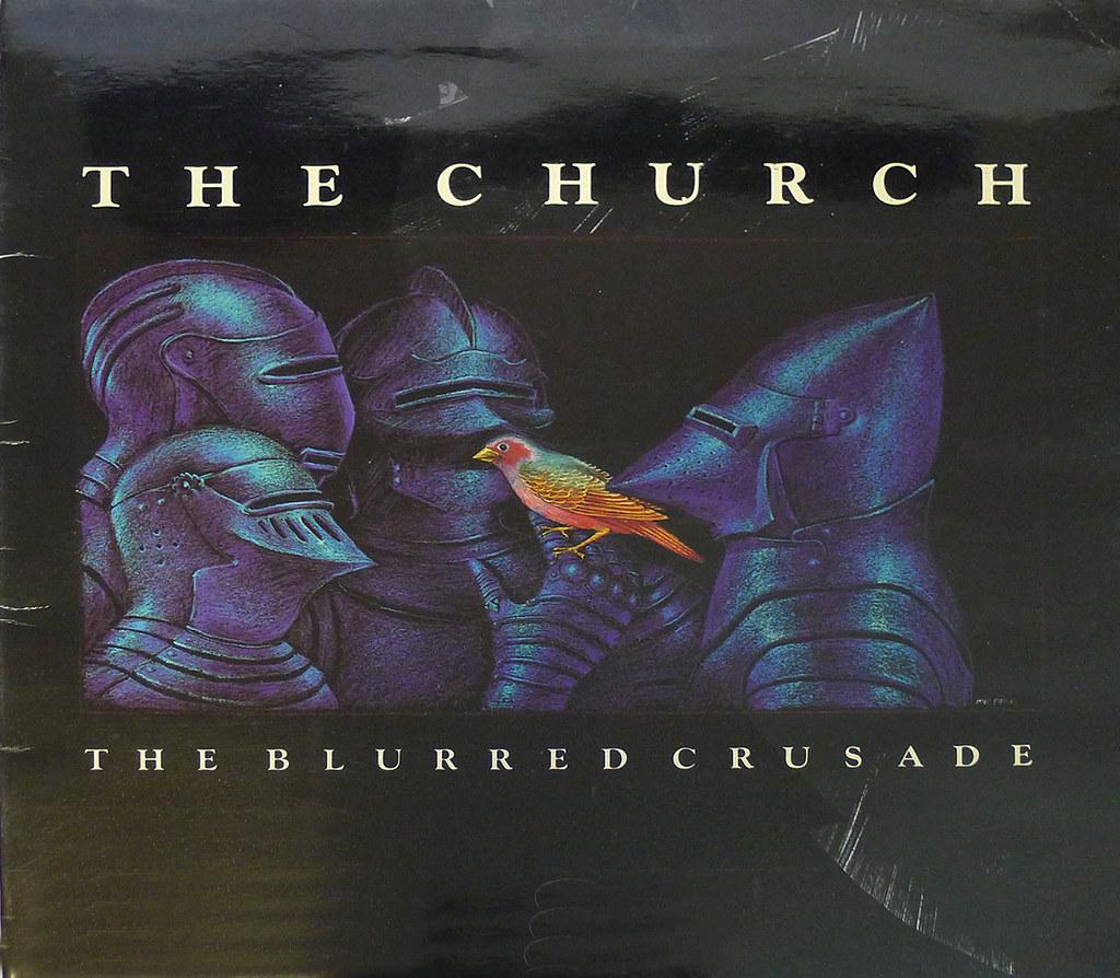 Blurred Crusade – The Church Vinyl Cover