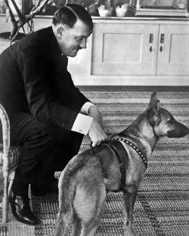 Hitler and His Beloved Dog Blondi (8)