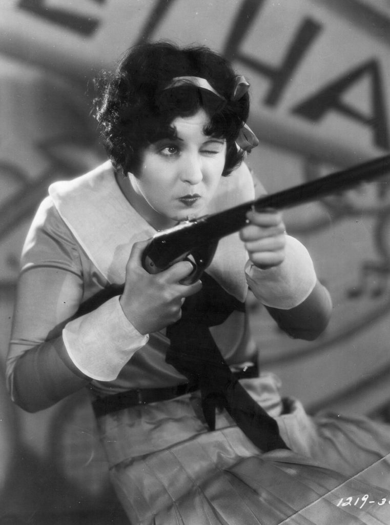 1929: American singer, actress and 'boop-boop-a-doop' girl Helen Kane (1904 - 1966), formerly Helen Schroeder gets serious in 'Sweetie', an early talkie musical directed by Frank Tuttle for Paramount. (Photo by Hulton Archive/Getty Images)