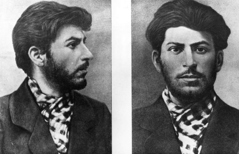 Soviet Communist leader Joseph Stalin (1879 - 1953), taken from a police file. (Photo by Hulton Archive/Getty Images)