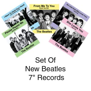 "Set Of - Wholesale New Beatles 7"" Records"