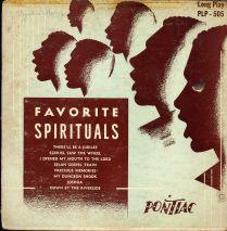 Pontiac-PLP505-FavoriteSpirituals