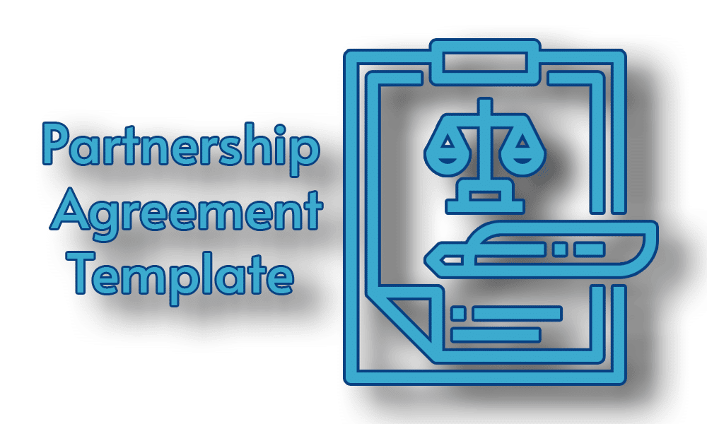 A simple partnership agreement template