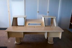Music Studio Desk | Eclipse Dual Bay