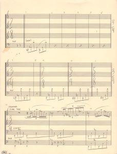 music score 1