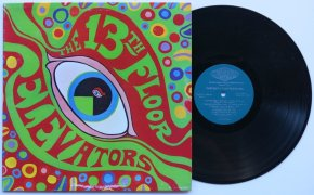 13th Floor Elevators 1st Press Psychedelic Sounds-Stereo LP-NM-Mint-Audio
