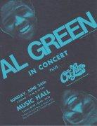 Al Green – 1973 Classic Era Concert Handbill