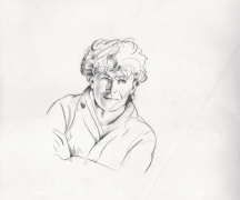 """A-Ha –  Original Animation Drawing Used In """"Take On Me"""" Music Video"""