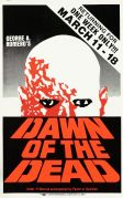 """""""Dawn of The Dead"""" -1980's Day-Glo Boxing Style Poster ( George A. Romero / Colby Posters)"""