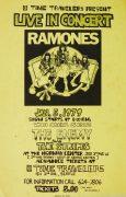 """Ramones – 1979 """"Road to Ruin"""" Era Seattle Concert Poster"""