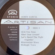 """Jerry Garcia – Garcia-Owned Acetate of His 1974 Second Solo Album, """"Garcia"""" aka """"Compliments"""" (Grateful Dead) (Artist Owned)"""