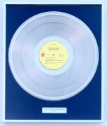 Rolling Stones – Danish 'Goat's Head Soup' Platinum Record Award, From Bill Wyman Collection (Artist Owned)