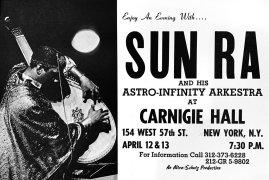 Sun Ra & His Astro-Infinity Arkestra – 1968 Carnegie Hall Concert Poster