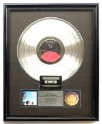 """The Doors – """"13"""" RIAA Platinum Record Award, Presented to Manager Danny Sugerman"""