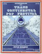 Grateful Dead, Janis Joplin, The Band, Traffic, Etc. – 1970 Trans Continental Pop Festival Concert Poster (AKA Festival Express)