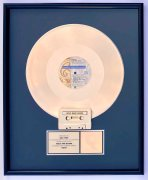 """Prince – RIAA Gold Record Award for """"Cream"""", Presented to Warner Bros. Exec Who Signed Him"""