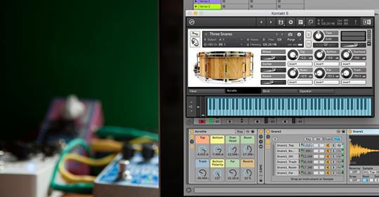 CreateDigitalMusic Free Snare Designer for Ableton Live Logic and Kontakt