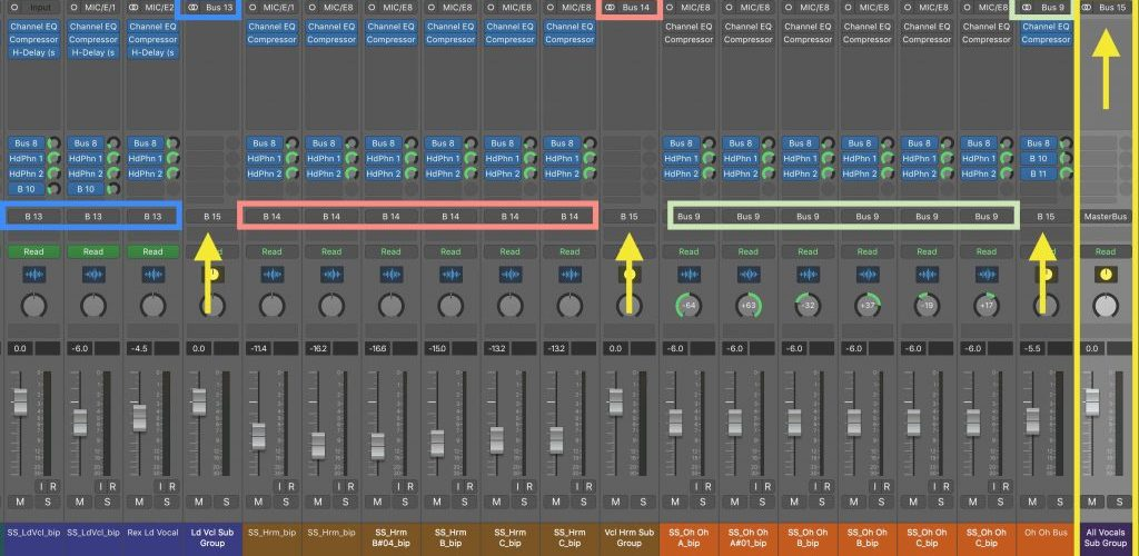 Top Down Mixing in Logic Pro X