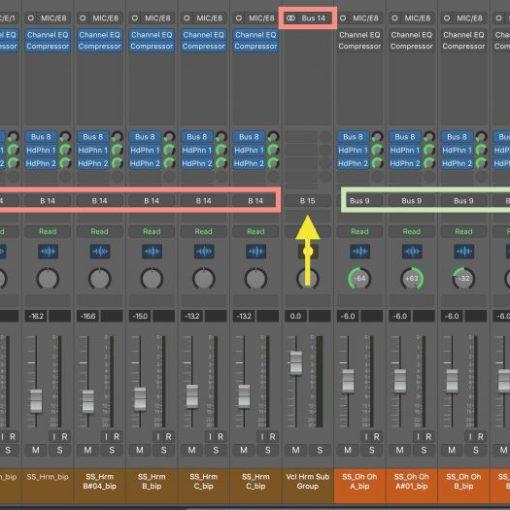 Top Down Mixing in Logic Pro X