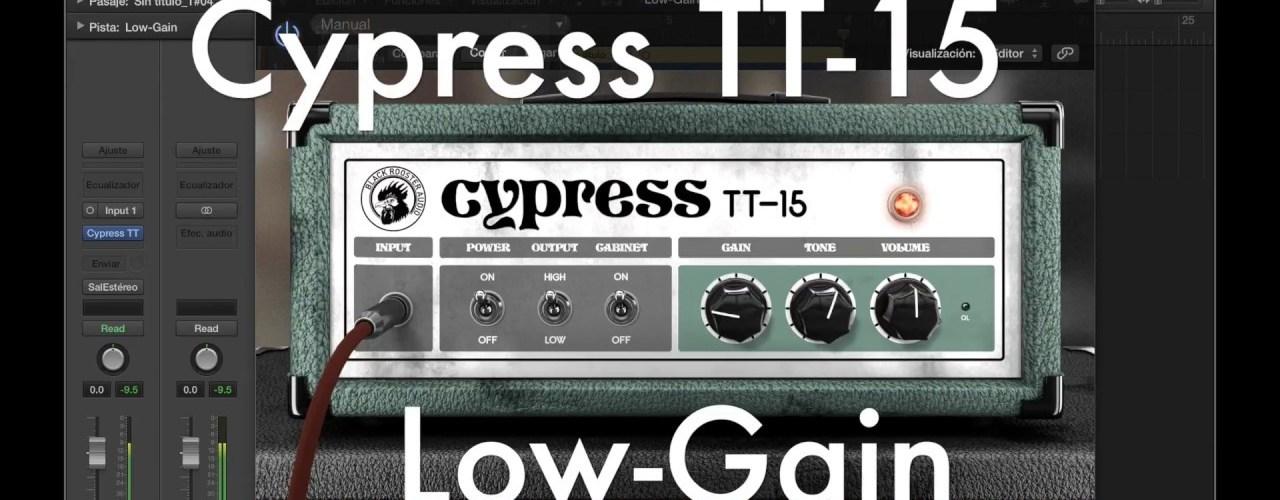 Free Plugin Black Rooster Cypress TT-15 Guitar Amp Head Plugin