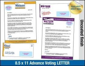 Advance Voting Letter