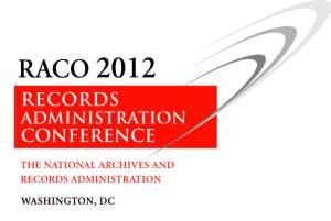 Logo for RACO 2012