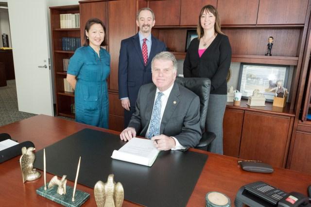 Signing of GRS Transmittal 29