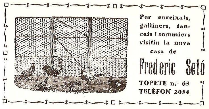 anunci casa setó 1931