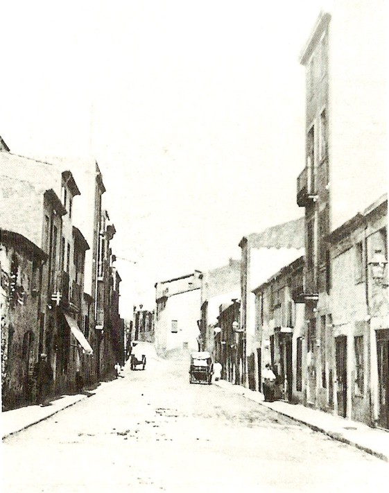 carrer Major al 1918
