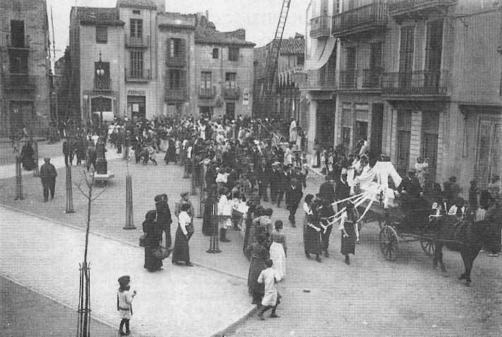 enterrament d\'un nen al 1913