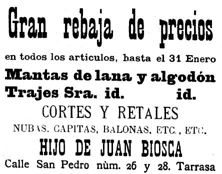 biosca 1909