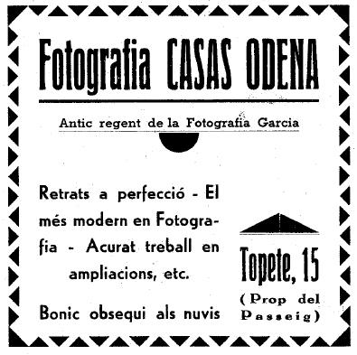 Casas Odena 1935