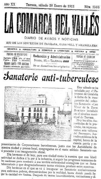 Can Viver de Torrebonica, masia i sanatori (3/5)