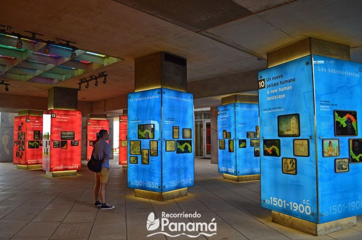 Sala La Huella Humana. Biomuseo