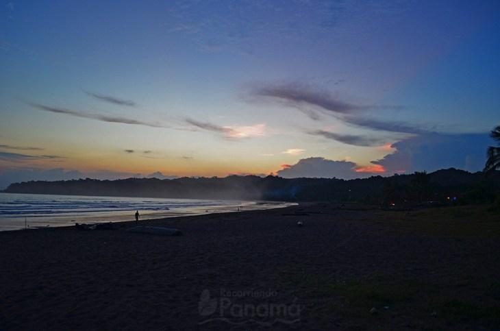 Sunset at Venao Beach