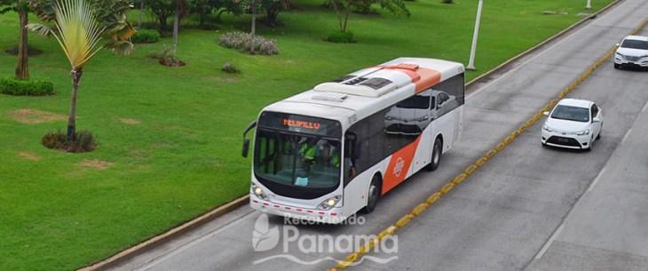 Metrobus information about panama