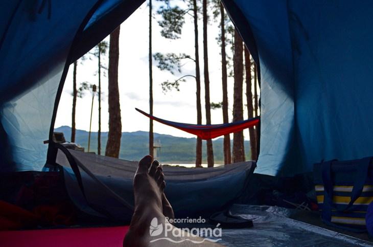 Vista desde mi camping.