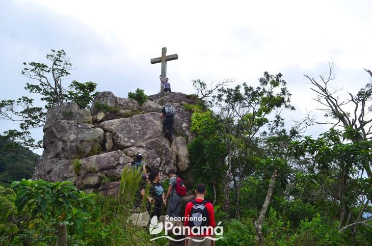 Cerro La Cruz en el Parque Nacional Campana