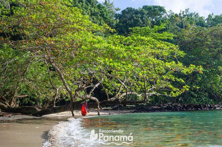 Playa Huerta, una de las playas paradisiacas de Colón.