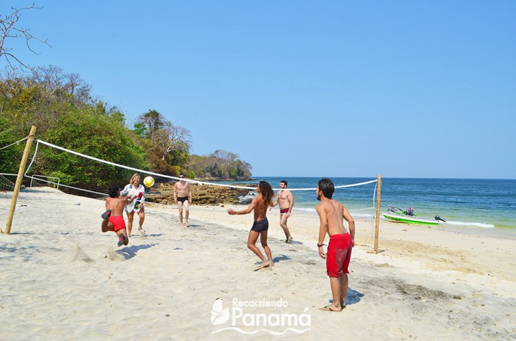 Voleibol.  Isla Bolaños