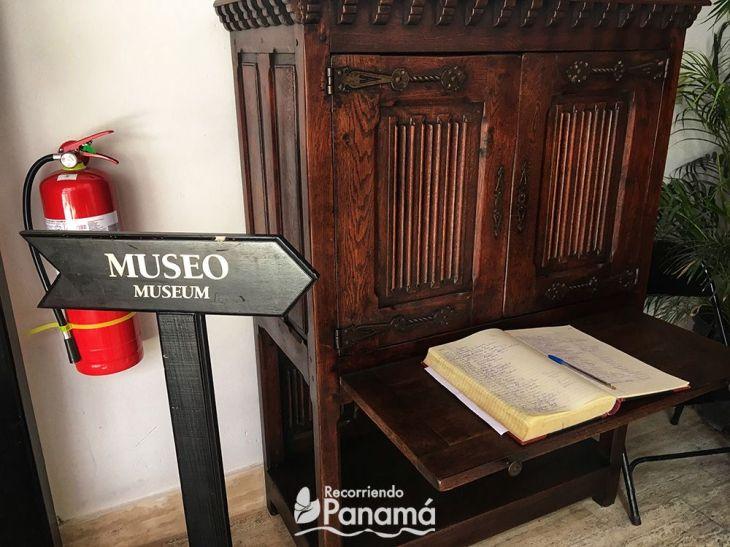 Entrance to the closed part of La Orden de La Merced Museum